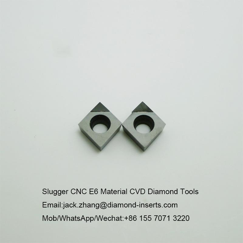 Slugger CNC E6 Material CVD Diamond Tools