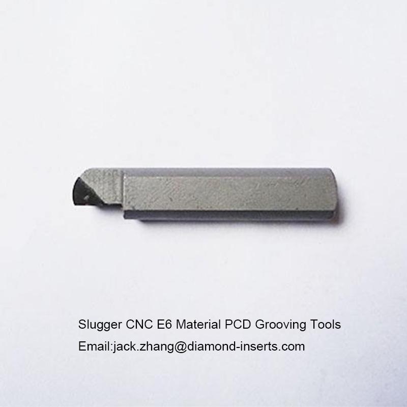 Slugger CNC E6 Material PCD Grooving Tools