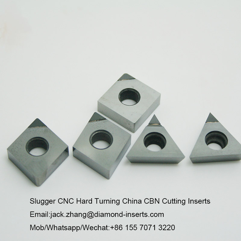 Slugger CNC Hard Turning China CBN Cutting Inserts