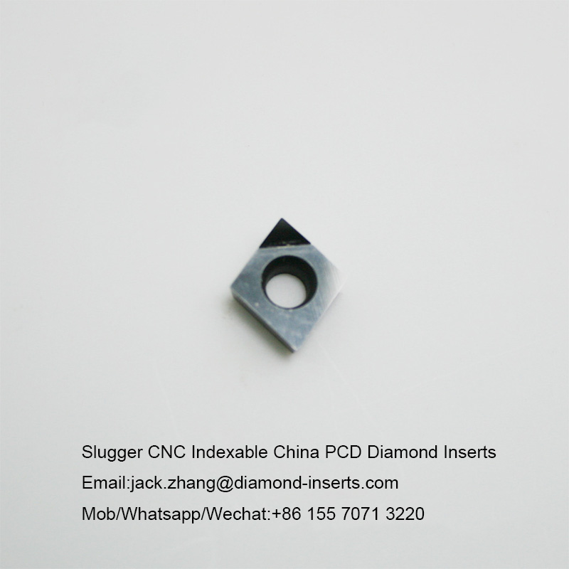 Slugger CNC Indexable China PCD Diamond Inserts