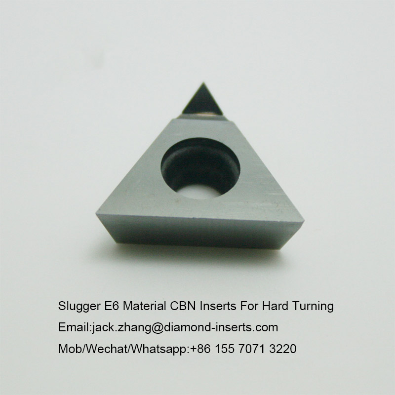 Slugger E6 Material CBN Inserts For Hard Turning