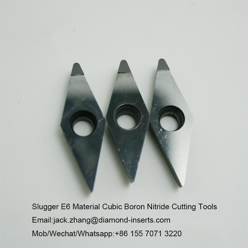 Slugger E6 Material Cubic Boron Nitride Cutting Tools