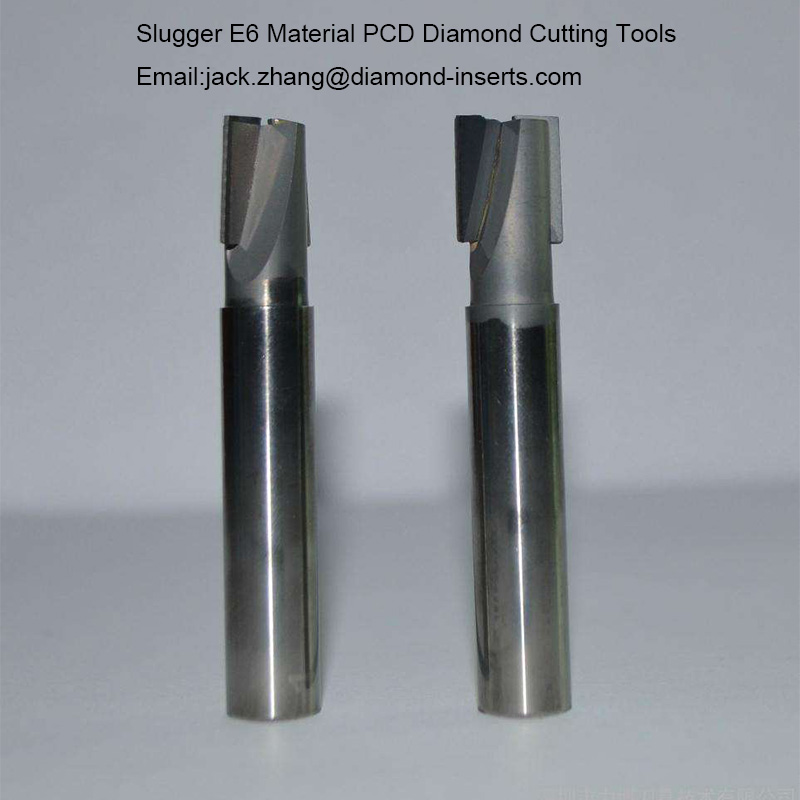 Slugger E6 Material PCD Diamond Cutting Tools