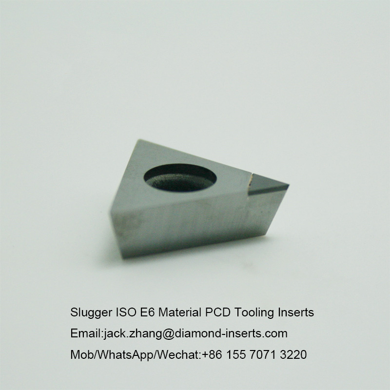 Slugger ISO E6 Material PCD Tooling Inserts