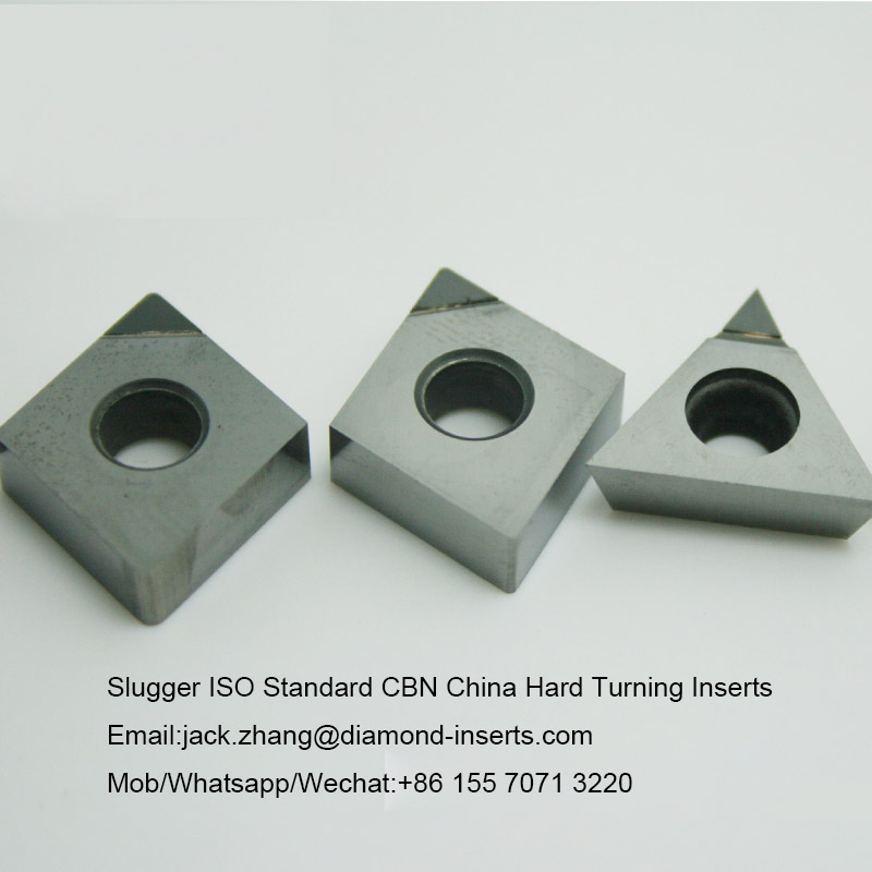 Slugger ISO Standard CBN China Hard Turning Inserts