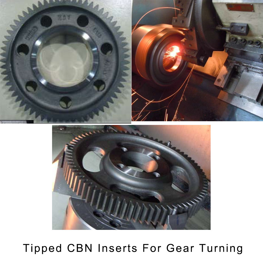 Slugger CBN Brazed Tip Lathe Tools For Gear Turning