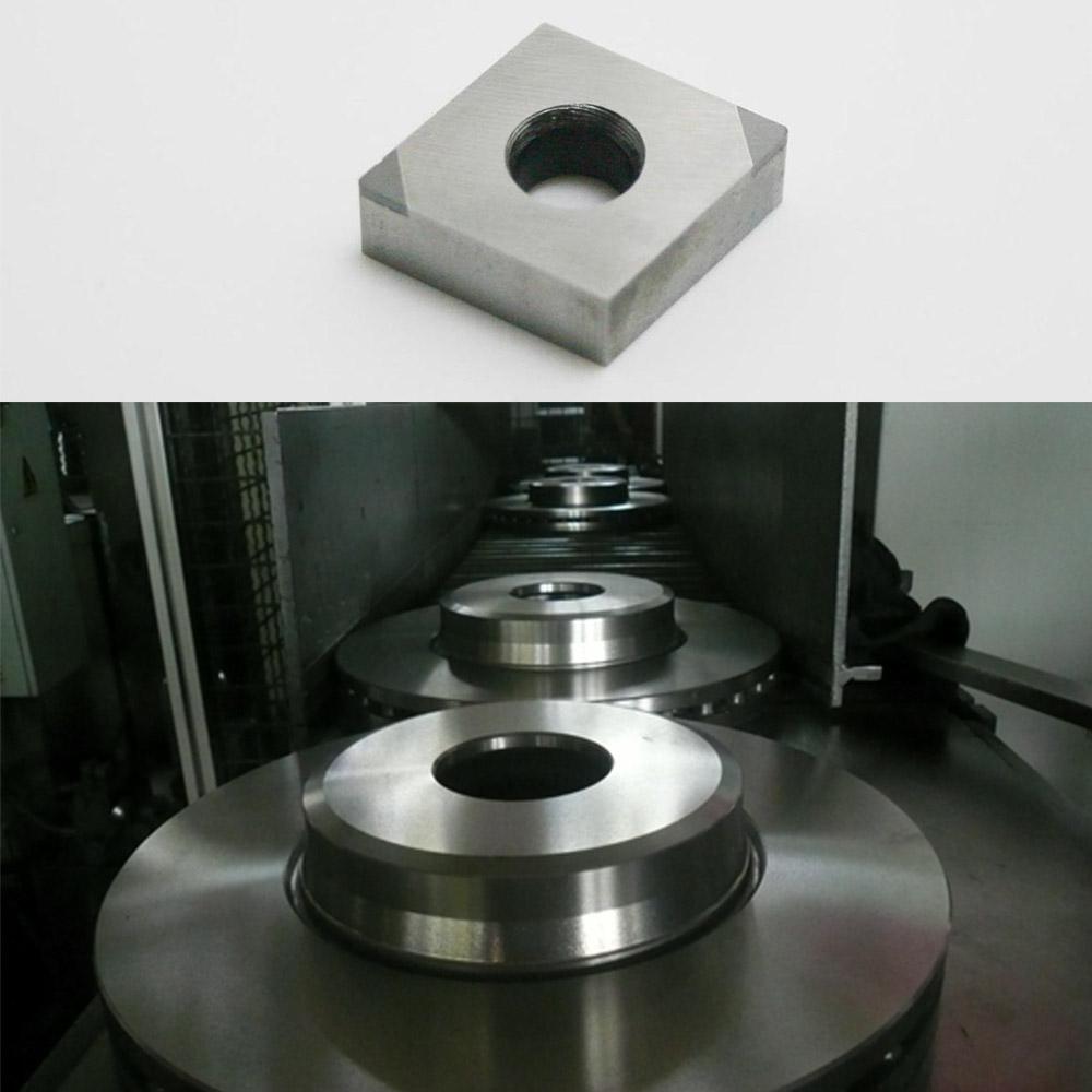 Slugger Cubic Boron Nitride Cutting Tools For Fine Machining Brake Disk